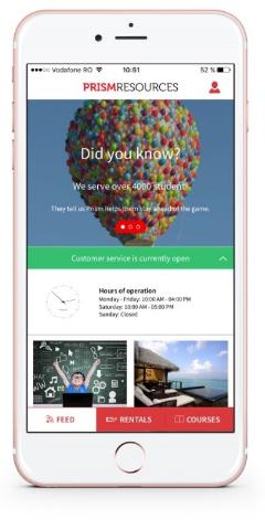 Dezvoltare aplicatiI mobile - PRISM