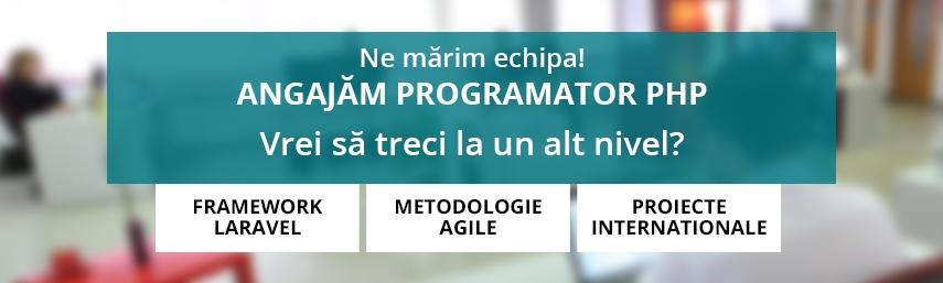 Programator PHP